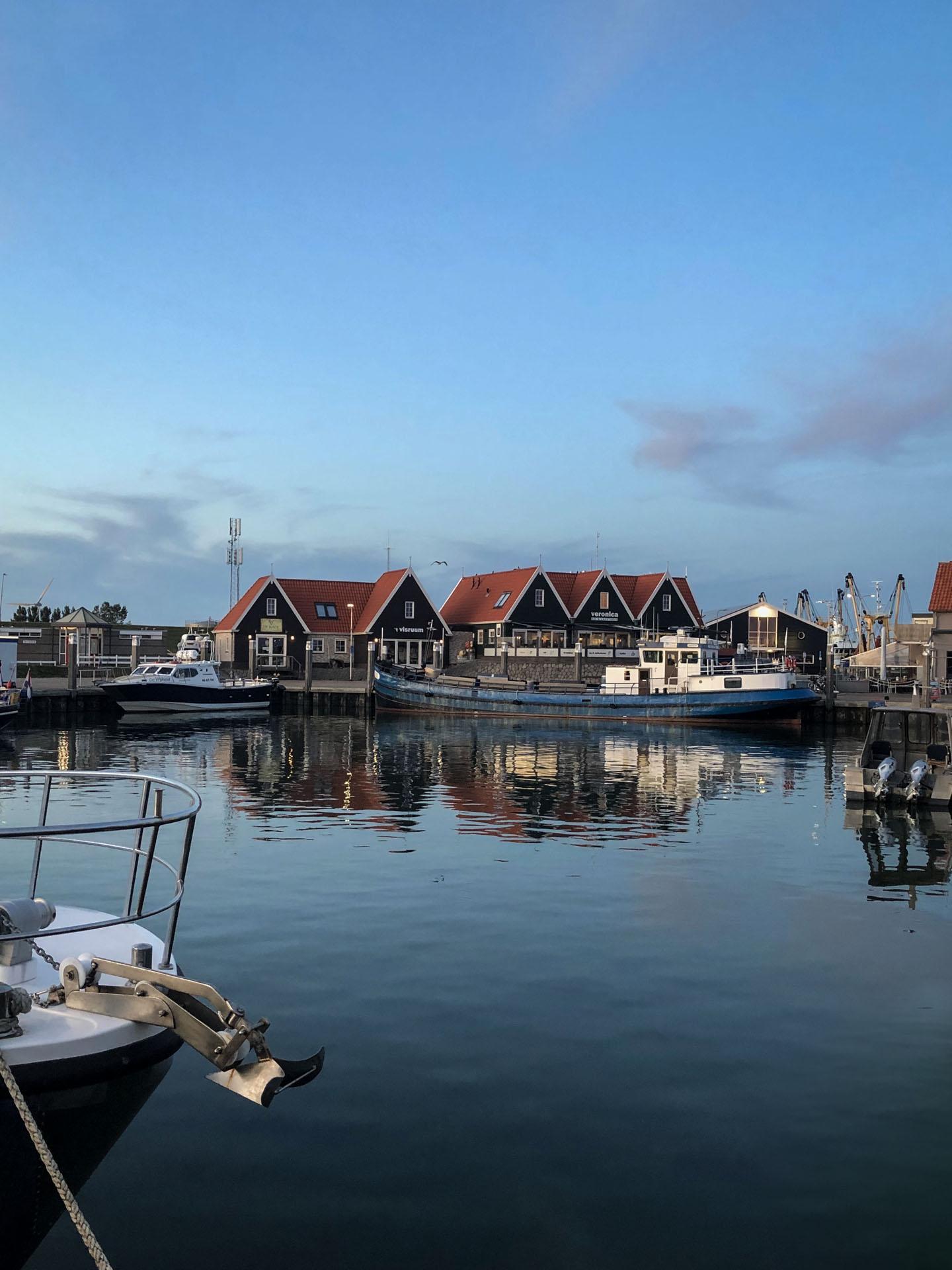 Texel im Spätsommer - Oudeschild Hafen