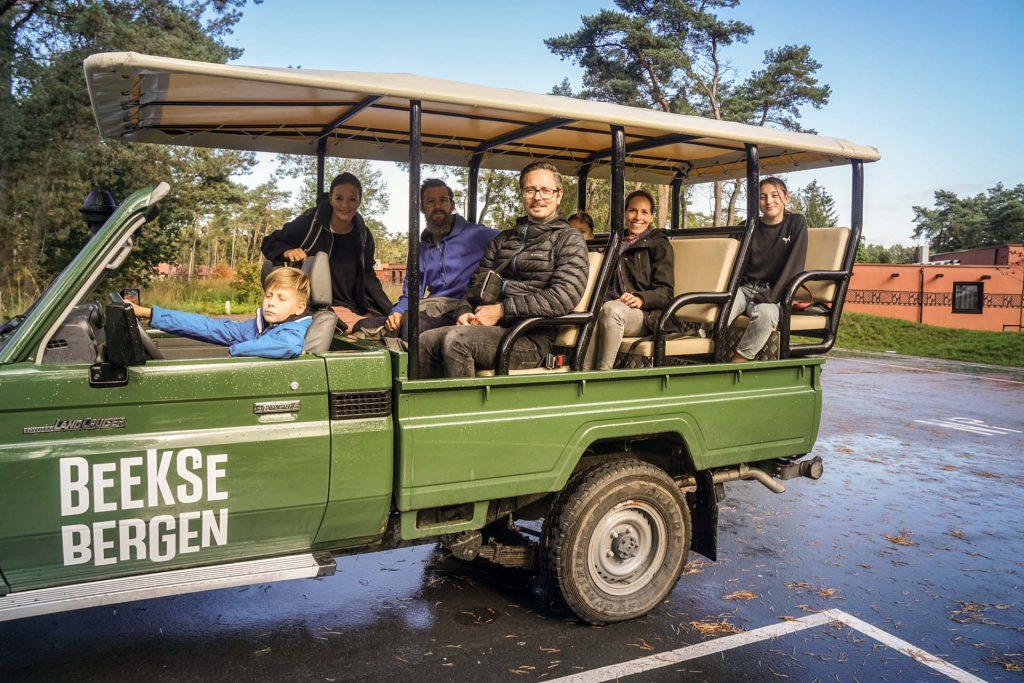 Safaripark Beekse Bergen Jepptour mit Ranger